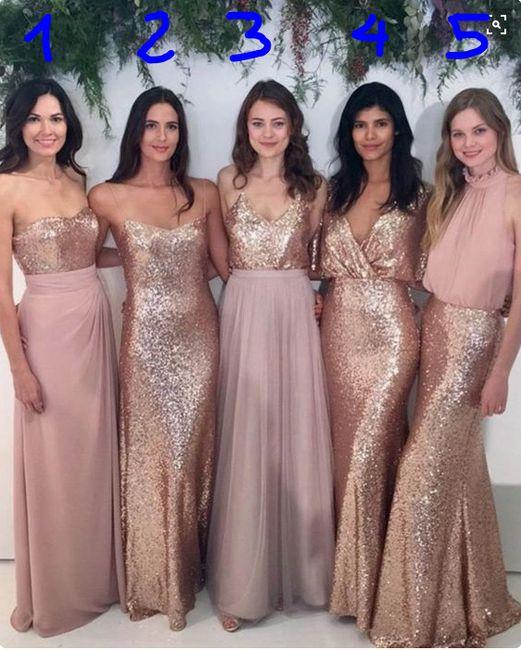 5 Vestidos 5 Estilos Cuál Te Gusta Más