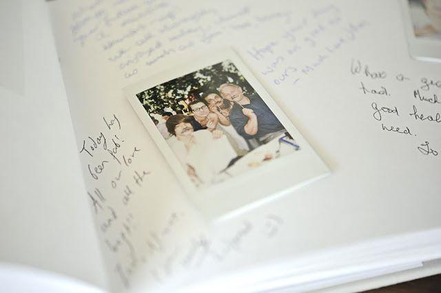Una boda con Polaroid