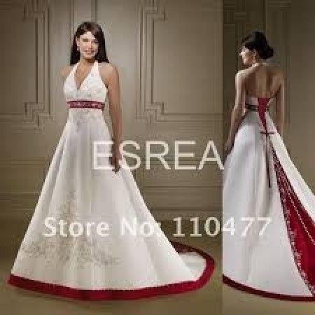 7436929b27 Vestido blanco y rojo - Madrid - Foro Bodas.net
