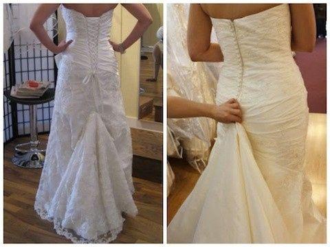 distintas formas de recoger la cola - moda nupcial - foro bodas
