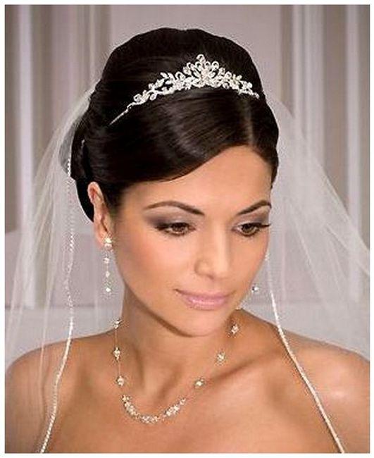 Wedding Hairstyles With Tiaras For Long Hair: Fotos Bodas.net