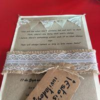 Invitación boda rústica - 1