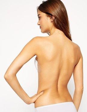 sujetador sin espalda y sin tirantes