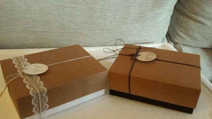 Cajitas de carton - 1