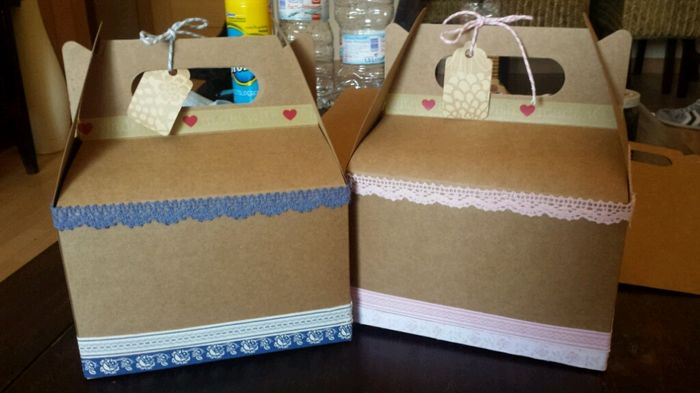 Cajitas de carton - 2