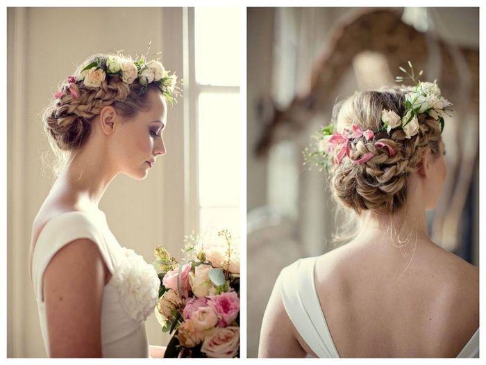 Recogidos con flores para novias Belleza Foro Bodasnet