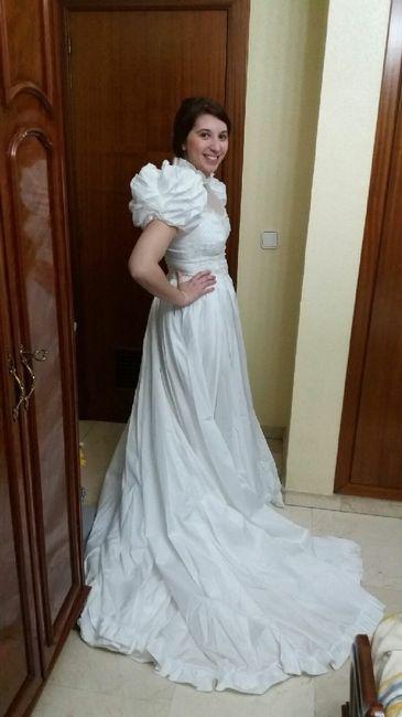 08b8eb6a4 Ya me he probado mi primer vestido de novia - Moda nupcial - Foro ...