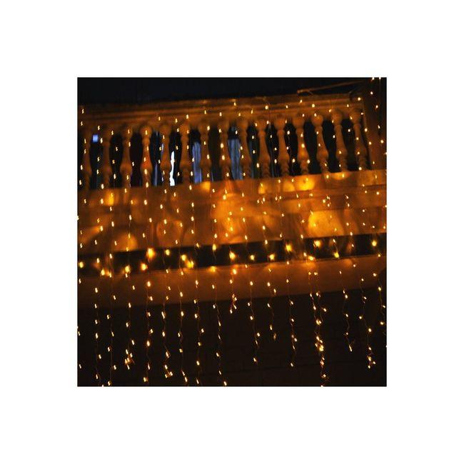 Cortinas de luces led banquetes foro for Cortinas con luces