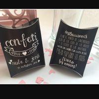 Caja pétalos/confeti - 1