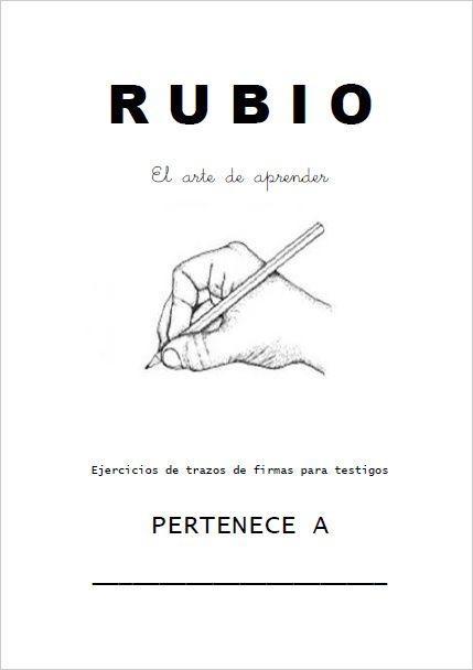 Cuadernillo Rubio Testigos 1