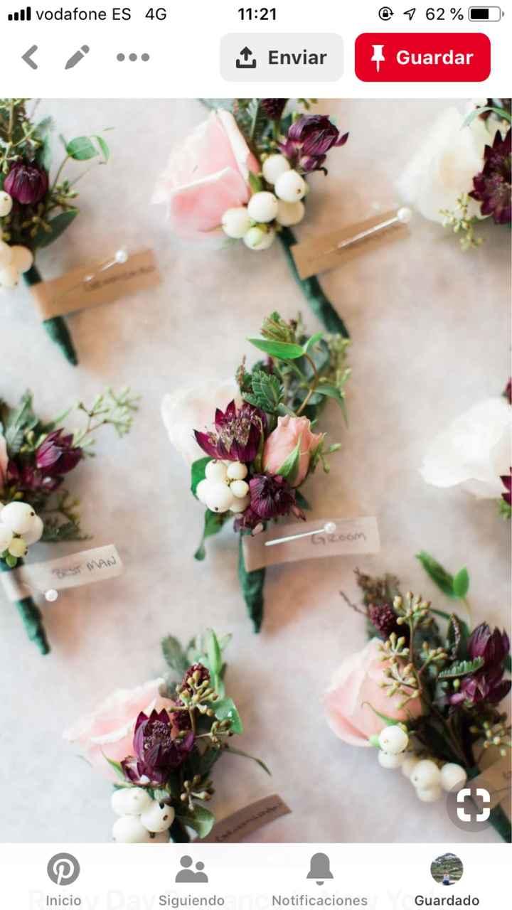 Ramo de flores preservadas - 2