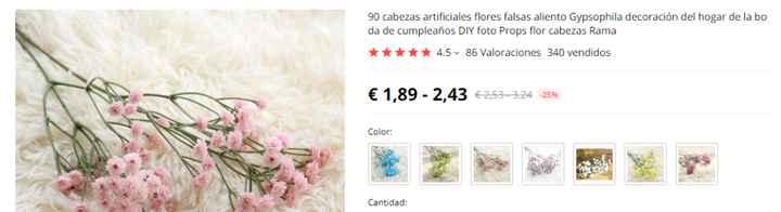 Flores para jarrones - 1
