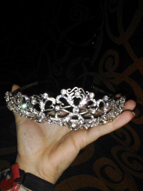 Peinado para tiara - 1