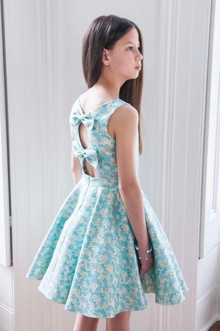 Vestido chica joven