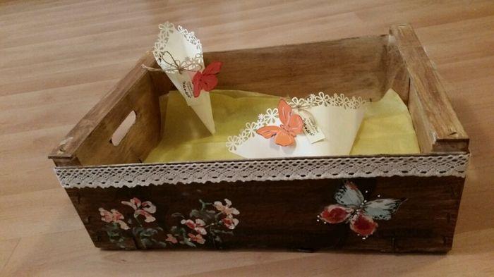 Caja de madera pintada manualidades foro - Cajas madera para manualidades ...