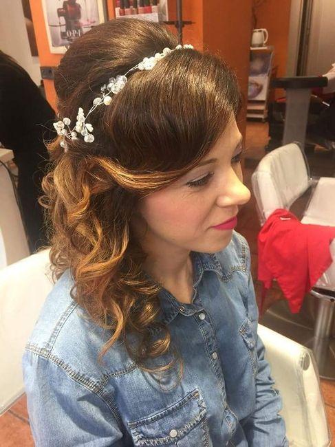 Nuestros peinados y maquillajes de novia 6
