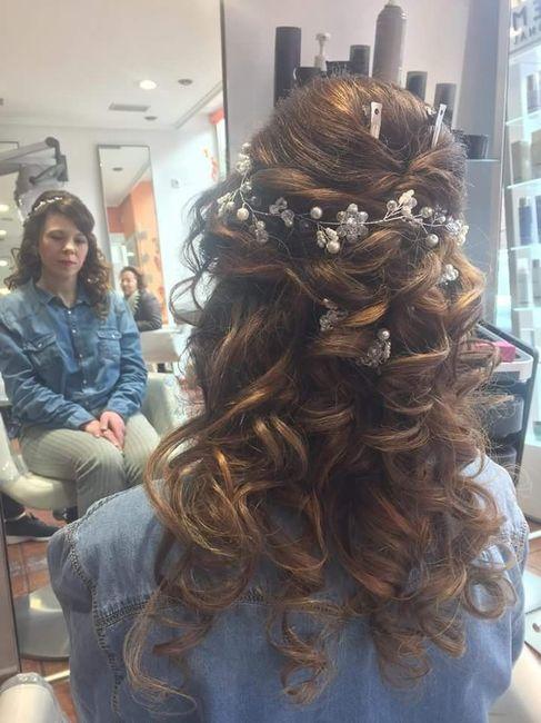 Nuestros peinados y maquillajes de novia 7