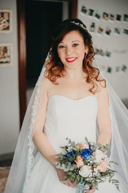 Nuestros peinados y maquillajes de novia 8