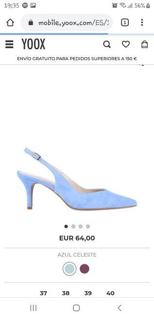Zapatos celestes - 2