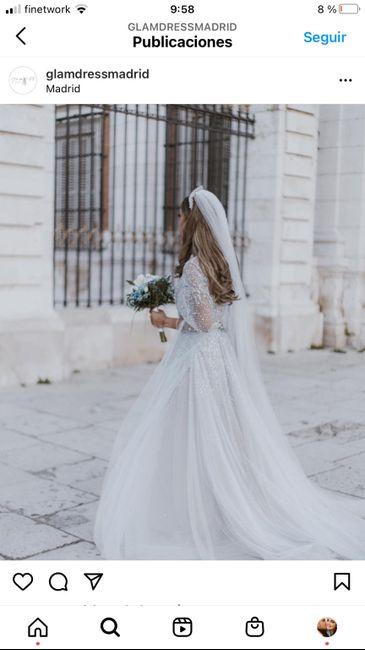 vestido de novia brillante 2