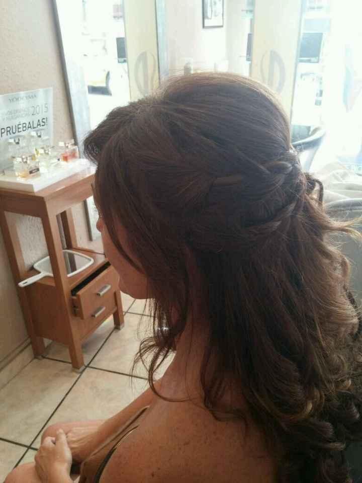 Mi primera prueba de peinado - 2