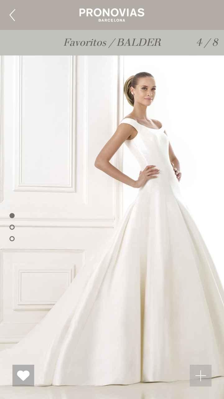 Tipos de Telas de los vestidos de novia - 1