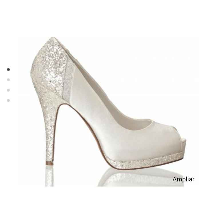 Mis zapatos de novia!!! feliiiiz 😊 - 1