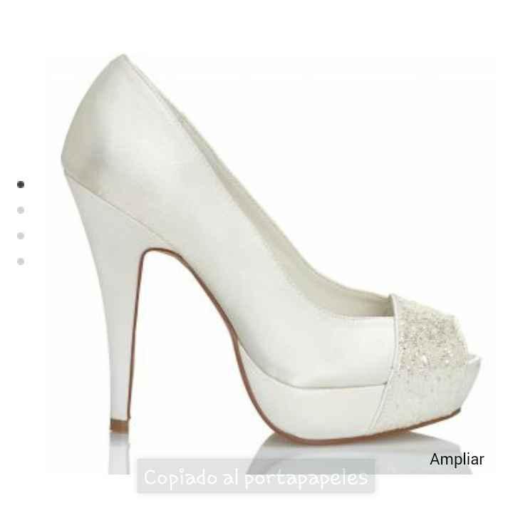 Mis zapatos de novia!!! feliiiiz 😊 - 2
