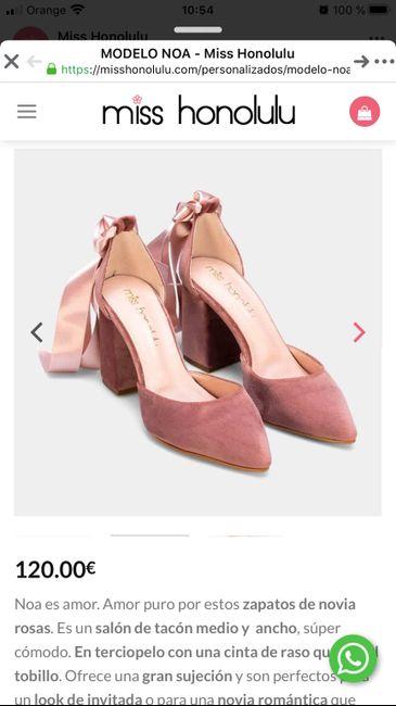 Zapatos de color 1