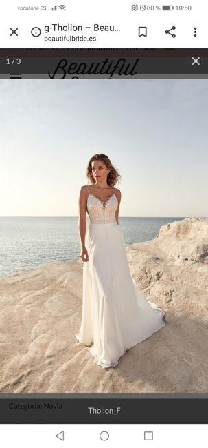 Vestido novia - 1