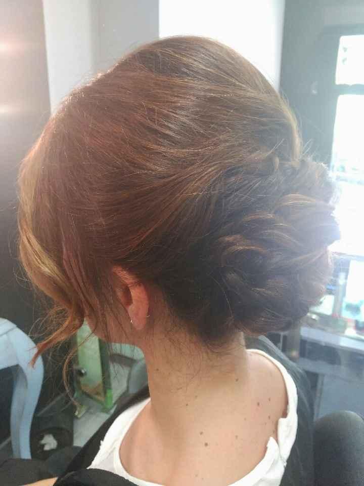 Prueba de peinado y maquillaje - 2