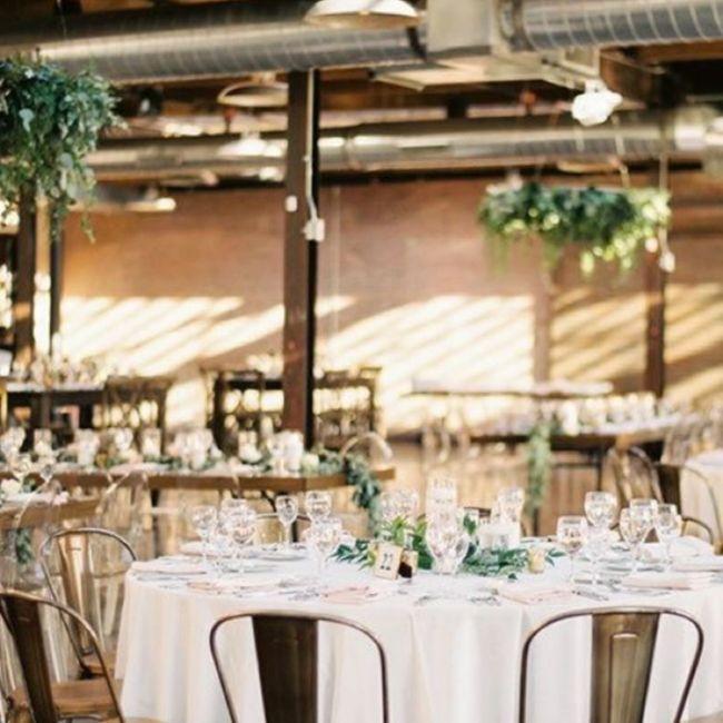 Banquete estilo industrial 4