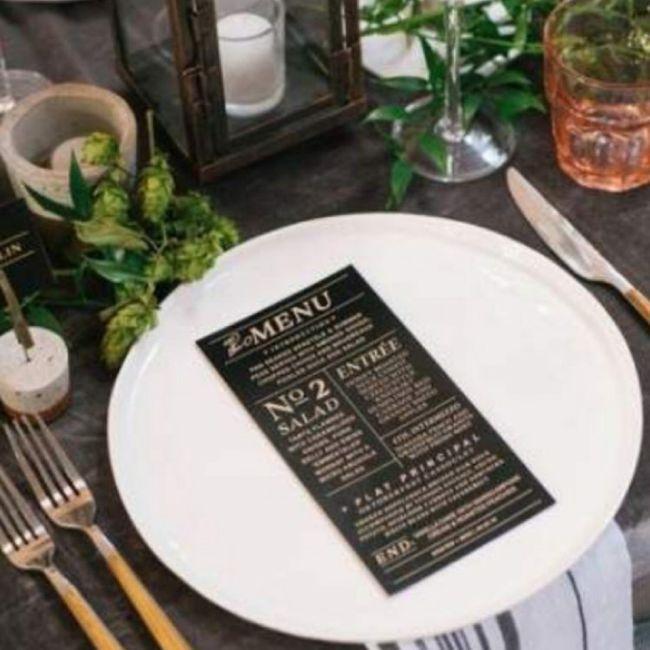 Banquete estilo industrial 6
