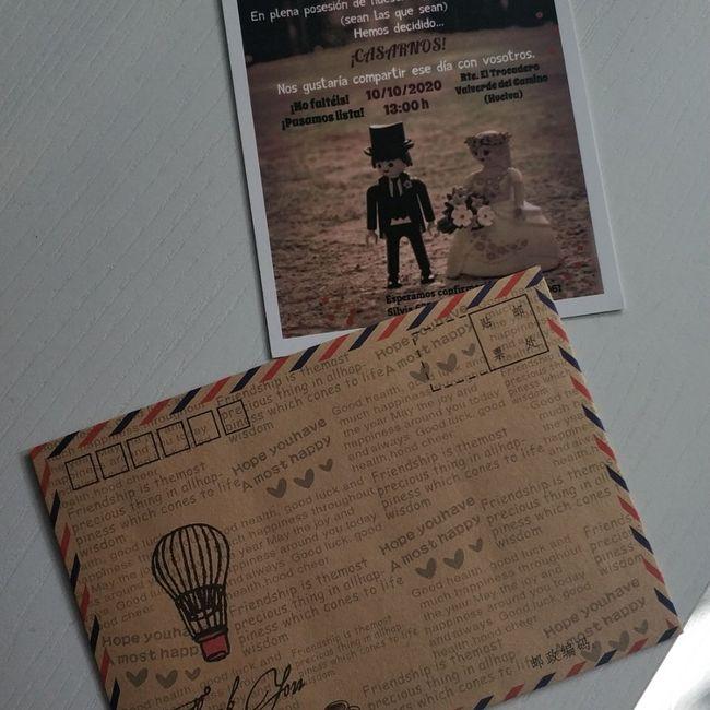 Inspiración tarjetas de invitación - 1