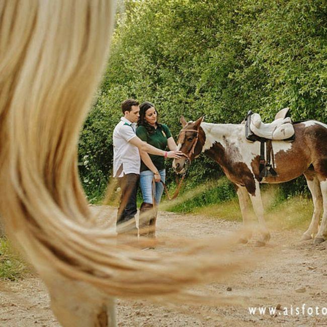 Preboda a caballo 🐎 1