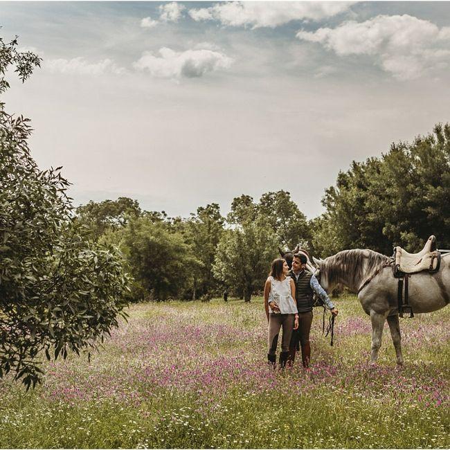 Preboda a caballo 🐎 4
