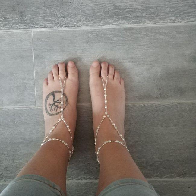 Sandalias descalzas!! Para cuando me esté preparando el gran día 😍 7