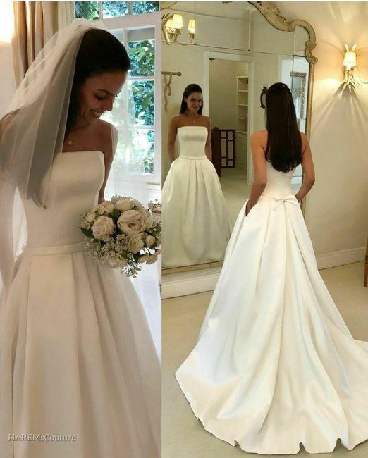 Elije un vestido 👰🏻 4