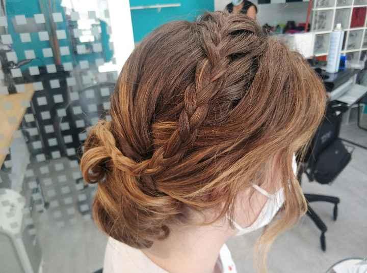 Peinado, primera prueba! - 1