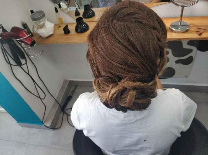 Peinado, primera prueba! - 2
