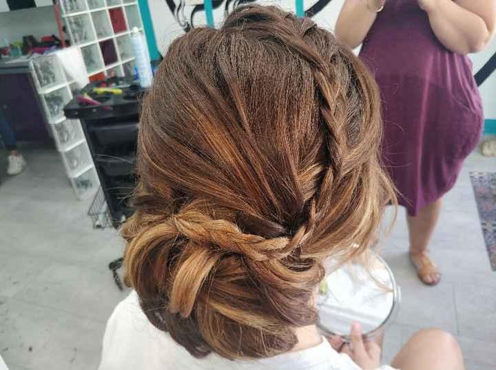 Peinado, primera prueba! - 3