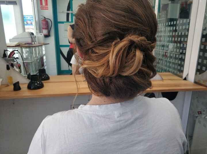 Peinado, primera prueba! - 4