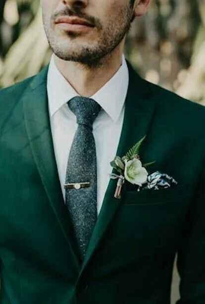 Bodas en tonos verdes y blancos 💚 - 2