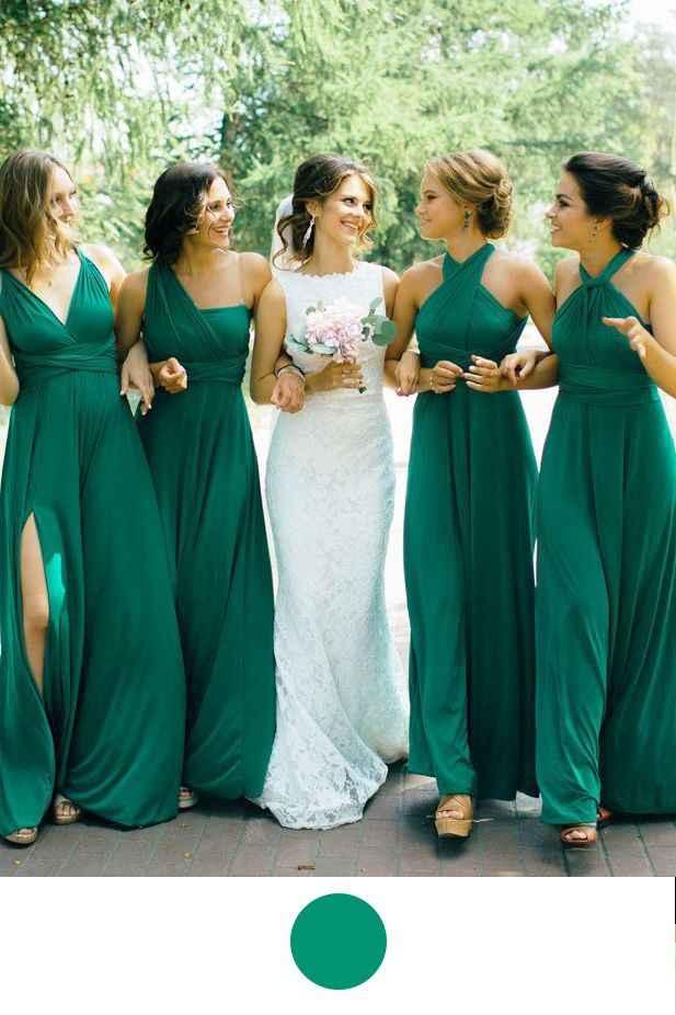 Bodas en tonos verdes y blancos 💚 - 6