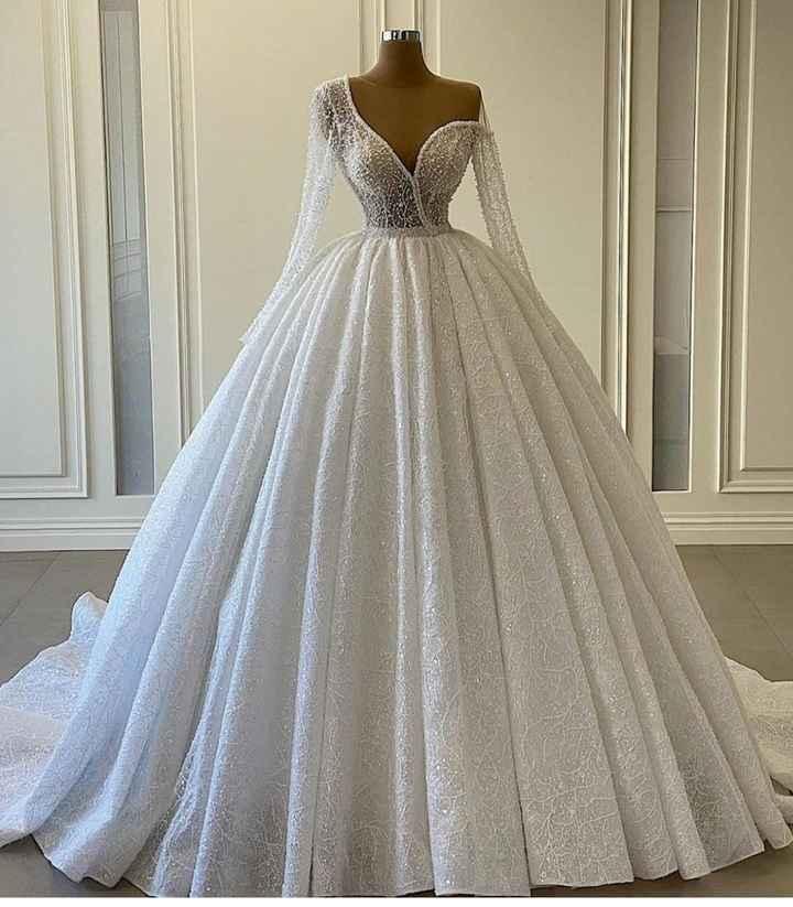Vestidos diferentes para diferentes novias 👰🏻 3