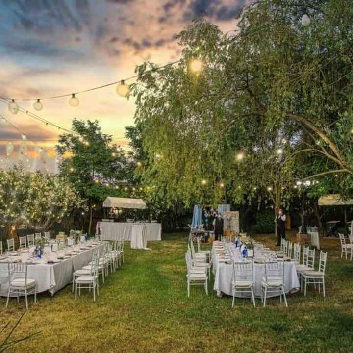 ¿Celebraréis vuestra boda al aire libre? - 1
