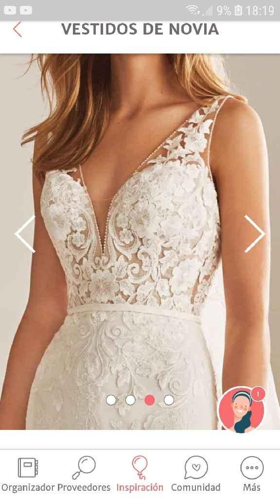 ¿Cómo será el escote de tu vestido? - 1
