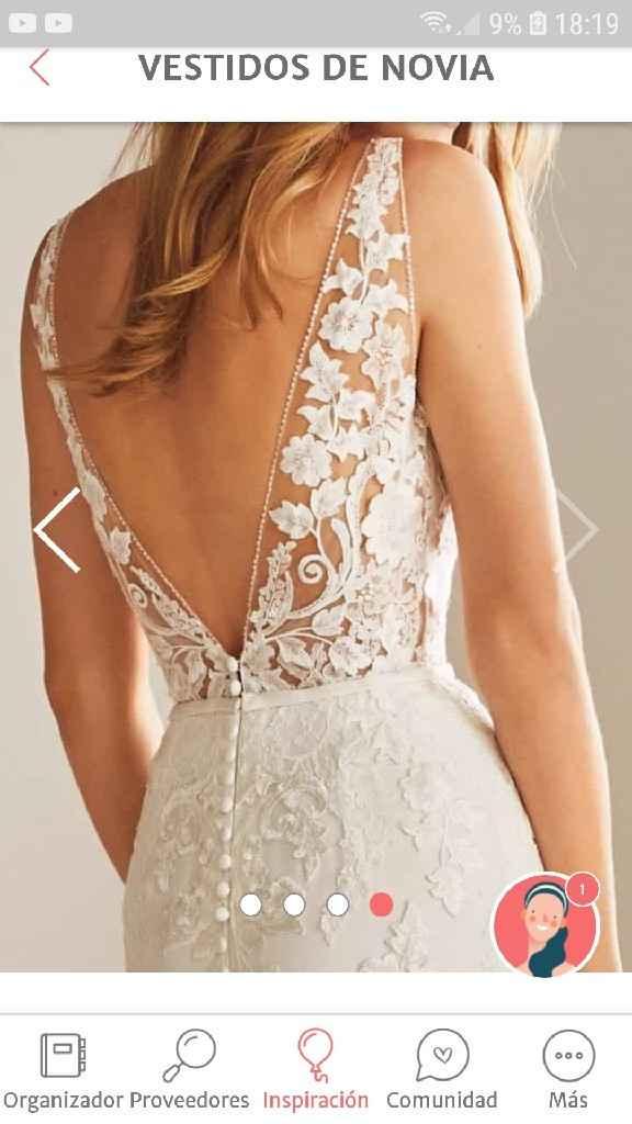 ¿Cómo será el escote de tu vestido? - 2