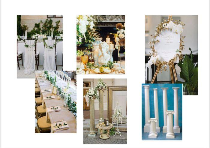 Porta alianzas para boda griega 1