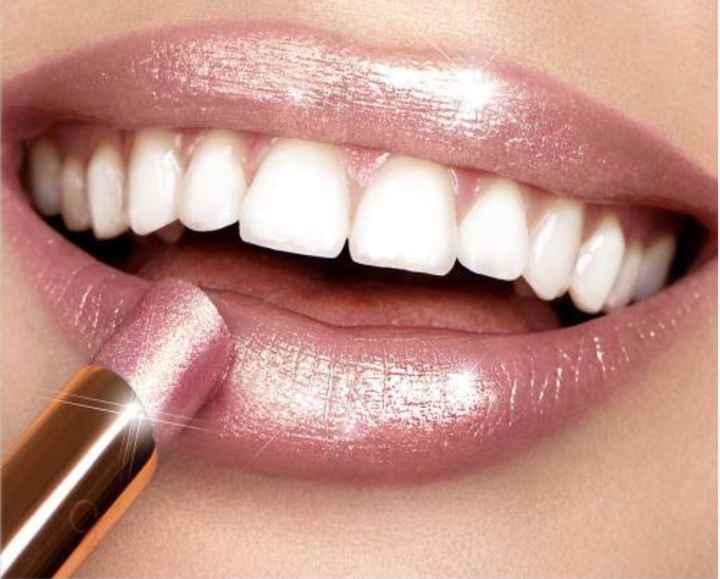 Pinta labios nude para novia - 2